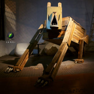 """""""Maceta robot de palets"""" Pallets reciclados 2012"""
